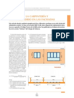 Acustica_La Carpinteria y El Vidrio en Fachadas