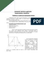 Tratamente Termice Aplicate Materialelor Metalice.doc