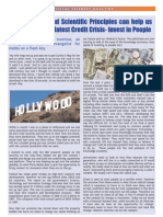 Science Principles to Fix Credit Crisis