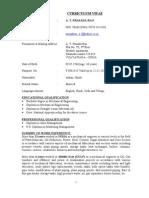 5643curriculum Vitae 1 [1].Rao
