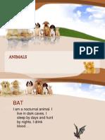 Animals - Ppt Five Stars
