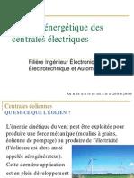Analyse Energétique-Eoliennes