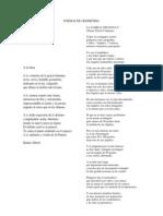 Poemas de Geometria