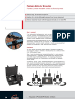 Portable Intruder Detector
