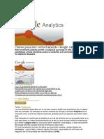 Claves Para Leer Correctamente Google Analytics