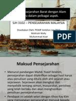 Konsep Pensejarahan Barat Dengan Alam Melayu Dalam Pelbagai Aspek