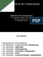 Breve História da Computação