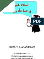 47292982 3 Sumber Ajaran Islam