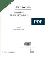 Kropotkin. P. Palavras de um revoltado. p 117-125. Teoria e método I.pdf