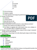 Energy-Forms & Changes