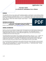 Selection Guide of DB Resistors for AB Servo Motors