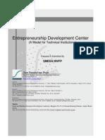 Entrepreneurship Development Center Model Tech Schools