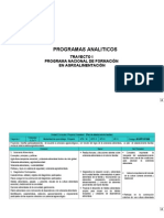 Programas UC PNFA
