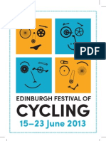 Edinburgh Festival of Cycling programme