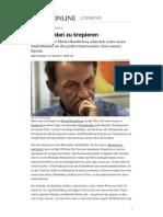 Lyrik Michel Houellebecq Configuraion Du Dernier Rivage
