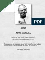 Recueil des Textes de BIDI