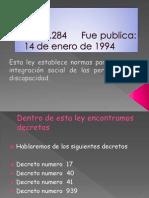 Ley 19284 Fue Publica