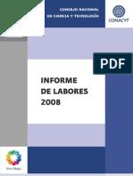 Informe de Labores CONACYT 2008