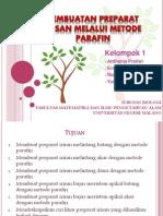 Preparat Irisan-metode Parafin