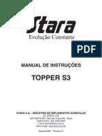 Manual STARA Topper S3