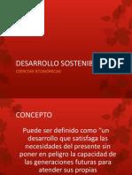 Desarrollo Sostenible 2013