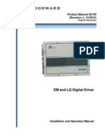 EM and LQ Digital Driver - Product Manual (Woodward)