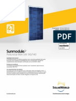 Sunmodule Off Grid Solar Panel 130 140 Poly r6a Bp