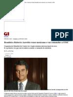 Economia - Brasileiro Roberto Azevêdo vence mexicano e vai comandar a OMC