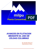 Balance Metalurgico MILPO