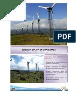Energía Eólica en Guatemala