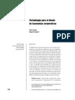 Argudo - Metodología para el diseño de taxonomías
