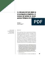 Ruiz - La Relevancia Del Texto Digital