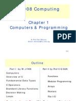C Programming (1/7) - Computers and Programming