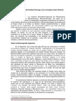 """""""Sobre la creación del Instituto Dorrego y los conceptos sobre Historia"""" - Luz Irene Pyke"""