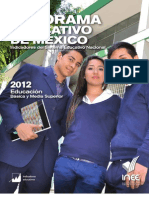 INNE-Panorama Educativo 2012