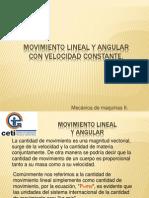 13. Movimiento Lineal y Angular