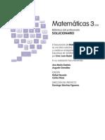 Solucionario - Matemáticas 3º ESO (Santillana)