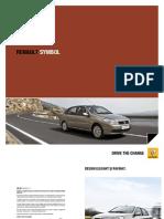 Brosura Renault Symbol
