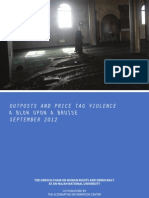 UNESCO AIC Outposts and Price Tag Violence