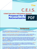 ICT Rationalization