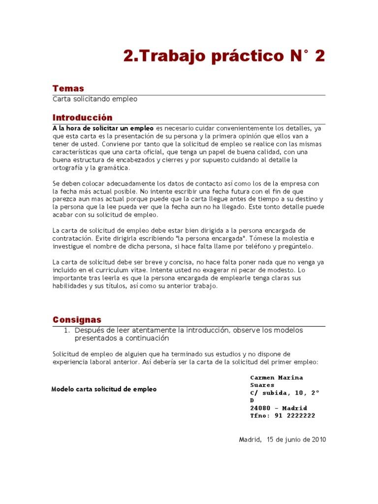 TP22do2013-Solicitud de Empleo