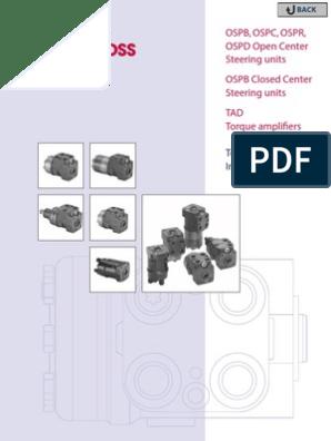 Steering box steering unit steering control unit OSPC 250 ON 150N2155 NEW...