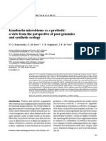 Guidelines for the Evaluation of Probiotics in