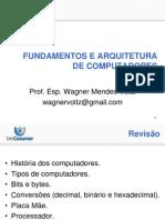 Slides Aula 03 - Fundamentos e Arquitetura de Computadores