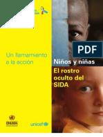 Los niños y el sida unicef