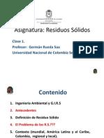 Clase 1 RS-UNAL (2012-I)-B