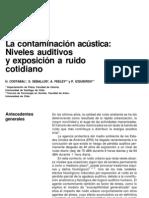 La Contaminacion Acustica