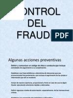 Control Del Fraude Diapositivas