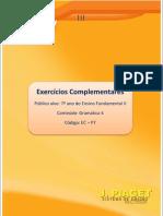 EC - 7º ano - Português - Gramática 4