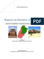 Report on Division of Punjab